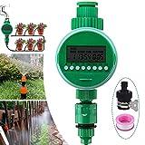 Jeteven 散水タイマー LCD 自動 節水 熱中症対策 防水密封 タイマー