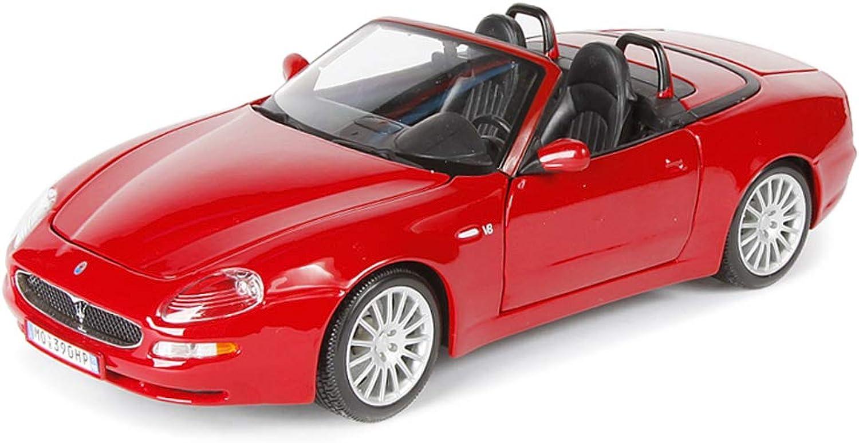 Envío y cambio gratis. LBYMYB Modelo de Coche 1 1 1 18 Maserati Spyde Simulación Aleación de fundición Adornos de Juguete Deportes Colección de Coches Joyería 23x10.8x7 CM  compra en línea hoy