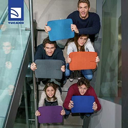 Tucano BFM1112-B Second Skin Melange Neopren Notebook Sleeve, 28,70-30,48 cm (11,3-12 Zoll) blau