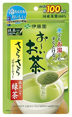 伊藤園お~いお茶『さらさら抹茶入り緑茶80g』