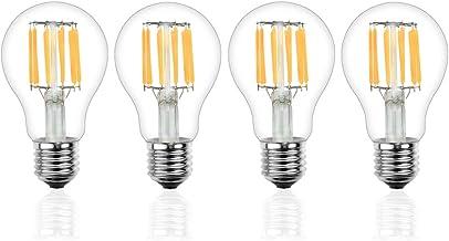 LED電球 e26 ボール型 100W形相当 10W 電球色2700K 1000lm フィラメント電球 シャンデリア エジソンランプ 和室 玄関 食卓照明 4個セット