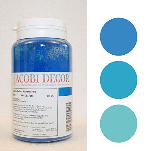 Puderfarbe fettlöslich blau 25 gr