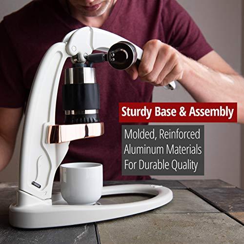 Flair Signature Espresso Maker (Pressure Kit, White)