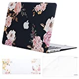 MOSISO MacBook Air 13 Inch Case (A1369/A1466, Older Version 2010-2017 Release), Plastic Flower