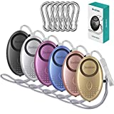 Safe Sound Personal Alarm, 6 Pack 140DB Siren Song Emergency Safe Alarm Keychain with LED Light, Personal Security Sound Whistle Safety Siren for Women, Men, Children, Elderly