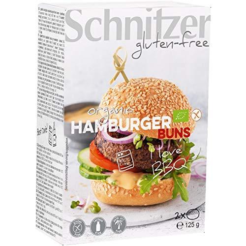 Schnitzer GLUTENFREE 4 Hamburger Buns, 250 g