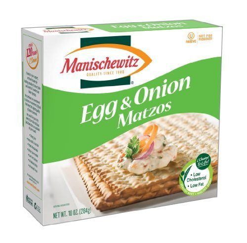 MANISCHEWITZ Egg Dealing full price reduction Onion Matzo 10-Ounce Boxes Pack Ranking TOP7 of Ma by 8