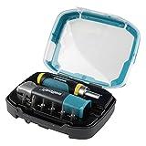 Wolfcraft 1001000 kit de destornillador para cajones, contenido: 1 atornillador angular, 1...