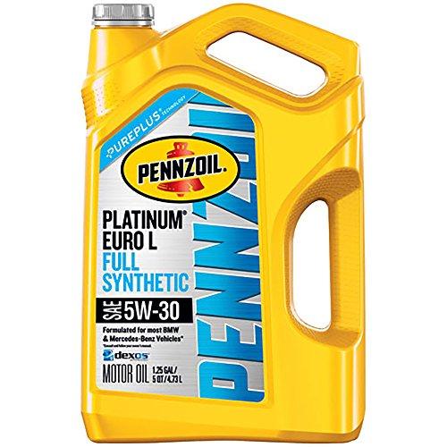 Pennzoil Platinum Euro 5W-30 Full Synthetic Motor...