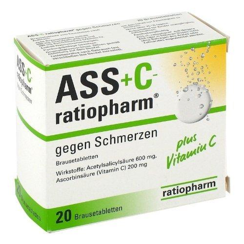 ASS + C RATIO GEG SCHMERZ by ratiopharm GmbH