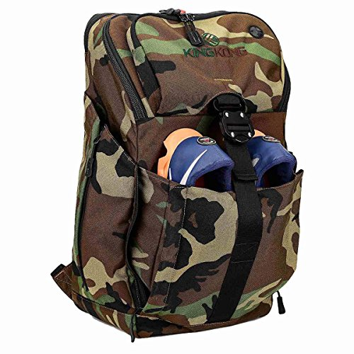 King Kong Backpack II - Military Spec Nylon Gym Backpack with Expandable Pockets and Heavy Duty...