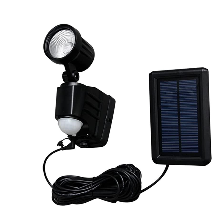 フクロウ現代のキャンパスアイリスオーヤマ ソーラー式センサーライト 1灯 昼白色 LSL-SBSN-200