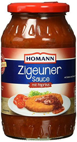 Homann Zigeuner-Sauce Pikant, 6er Pack (6 x 500 ml)