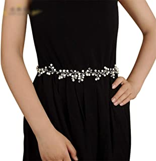 ZYDP Bridal Belt Wedding Dress Accessories Belt (Color : Purple)