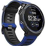 Coros Pace - Reloj Deportivo GPS con Monitor de frecuencia cardíaca basado en la muñeca, Incluye Correr, Ciclismo, natación y triatlón y altímetro barométrico, Compatible con Strava