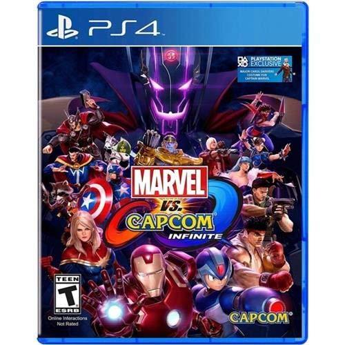 Marvel Vs Capcom Infinite - Ps4 Midia Física Usado