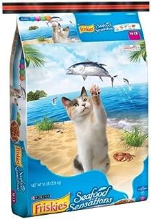 Purina Friskies Seafood Sensations Cat Food 16-Pound Bag