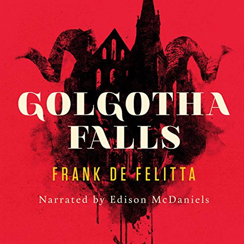 Golgotha Falls audiobook cover art