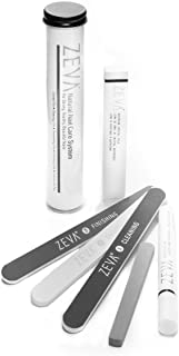 ZEVA 5-Piece Natural Nail Care File & Buffing System