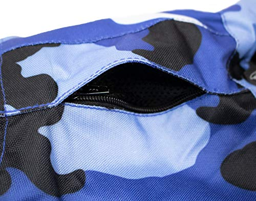 Herren Motorrad Textil Jacke Motorradjacke Winddicht Wasserdicht Belüftet Camo Camouflage (4XL) - 2