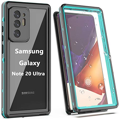 YOGRE Samsung Galaxy Note 20 Ultra Waterproof Case, Full-Body with Built-in Screen Protector Heavy Drop Protection Shock Absorption Cover Case Designed for Samsung Galaxy Note 20 Ultra (6.9 inch)