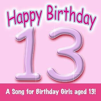 Happy Birthday (Girl Age 13)