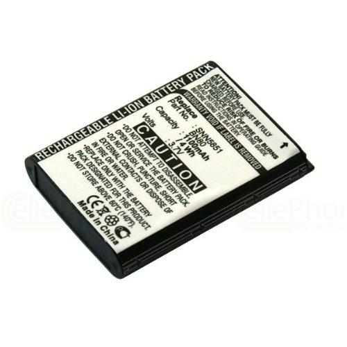 cellePhone Akku Li-Ion kompatibel mit Motorola Backflip Enzo Motus MB300 ME600 (Ersatz für BN80)