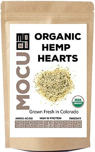USA Grown Organic Hemp Hearts Hulled Hemp Seeds 3 LB Bag Cold Stored to Preserve Nutrition Raw product image