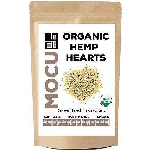 USA Grown Organic Hemp Hearts (Hulled Hemp Seeds) | 3 LB Bag | Cold Stored to Preserve Nutrition | Raw, Non GMO, Vegan, Gluten Free | Package May Vary