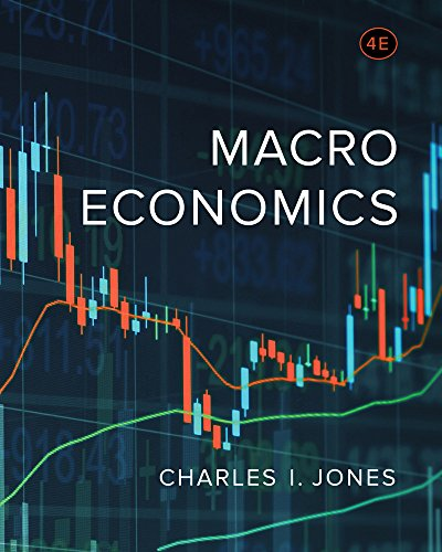 Compare Textbook Prices for Macroeconomics Fourth Edition Fourth Edition ISBN 9780393603767 by Jones, Charles I.