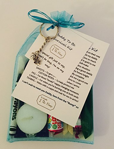 """New Daddy to Be Survival Kit Card from""""The Baby/Bump"""" Fantastic Gift/Present for Birthday, Christmas, Fathers Day, Congratulations, Great for Any Occasion"""