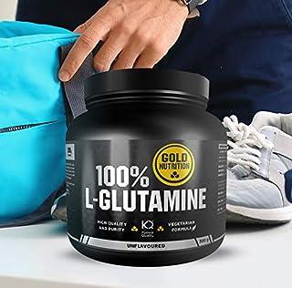 Goldnutrition L- Glutamine 300g polvo. Aumento