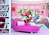 Diseño de AG FTDxxl2229 Fototapeten Bildtapete de Minnie Mouse de Disney fotomurales de Pared-de Tela