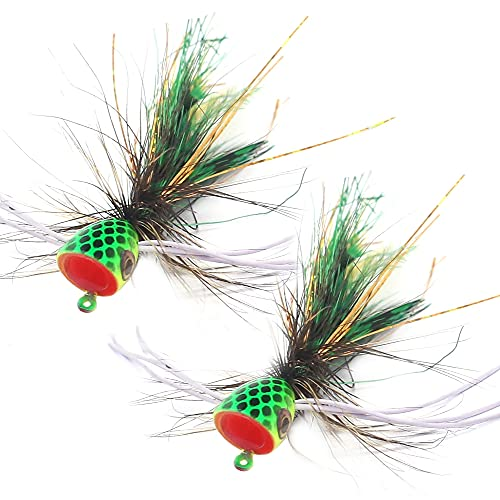 Popper-Flies-for-Fly-Fishing-Topwater-Panfish-Bluegill-Bass-Poppers...