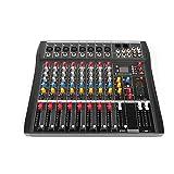 Professional Audio Mixer Sound Board Console USB bluetooth Audio Mixer DJ Live Mixing Console...