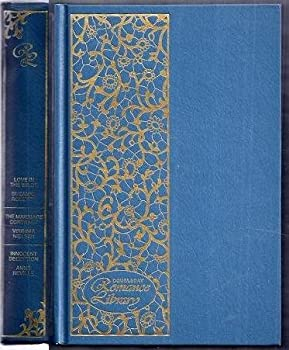 """Unknown Binding Doubleday Romance Library #32. Contains """"Love in the Wilds"""", """"The Marriage Contract"""", """"Innocent Deception"""" Book"""