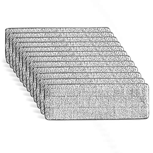 ULTRAnet Mopa Recambio – Recarga Gamuza Desechable de Microfibra para Set Mopa y Cubo Escurridor Pro EasyClean Gris/Blanco ⭐