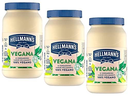Kit 3 Maionese Vegana Certificada SVB Hellmanns 250g