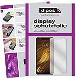 dipos I 2X Schutzfolie klar kompatibel mit Xiaomi Pocophone F1 Folie Bildschirmschutzfolie