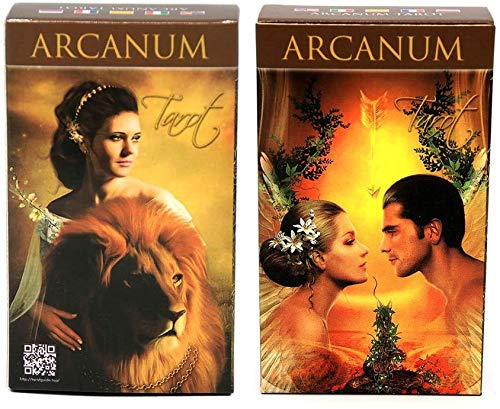 EFDS Full English Arcanum Tarot 78 Cards Deck Oracle Playing Card Party Board Game