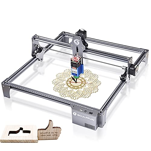 SCULPFUN S6 Pro Laser Engraver Cutting Machine Laser Engraving Machine for Wood...