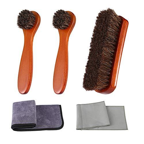 shoe shine brush set - 5