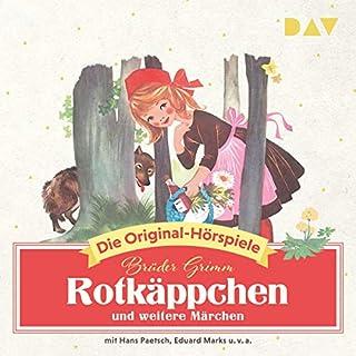 Rotkäppchen und weitere Märchen                   Autor:                                                                                                                                 Brüder Grimm                               Sprecher:                                                                                                                                 Eduard Marks,                                                                                        Hans Paetsch                      Spieldauer: 54 Min.     1 Bewertung     Gesamt 5,0