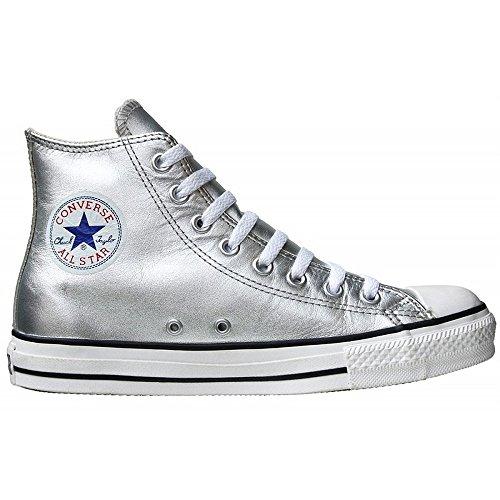 Converse, Sneakers pour homme, unisexe adulte, argent métallisé, 10,5 UK