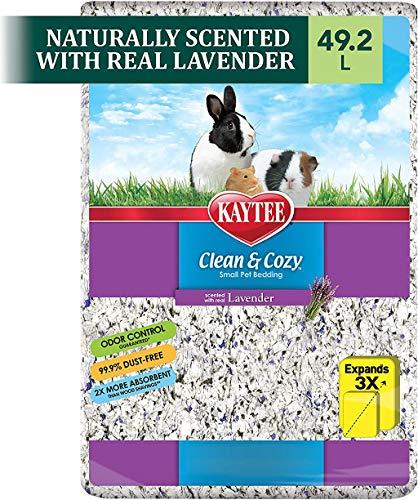 Kaytee Clean and Cozy Small Animal Bedding, Lavanda, 1000 cu.in. / 16.4 Liter