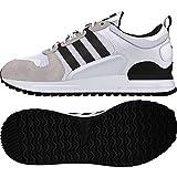 adidas ZX 700 HD, Zapatillas Hombre, Weiß Footwear White Core Black, 49 EU
