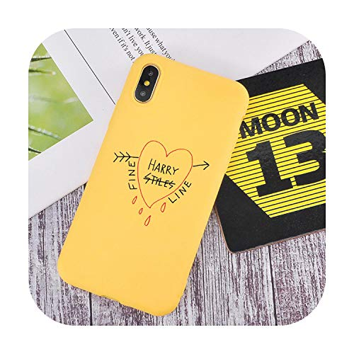 Fashion Harry Styles Love On Tour 2020 Fine Lines - Carcasa de silicona para iPhone 11 Pro XR 8 7 Plus