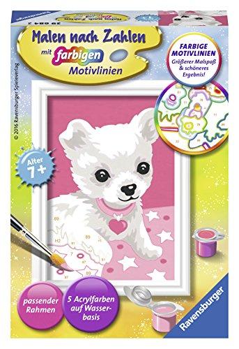 Ravensburger - 296842 - Numéro d'art Set Chihuahua