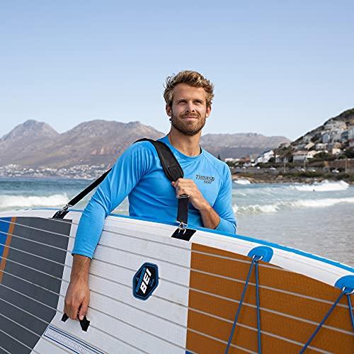 THURSO SURF SUP Paddle Board Carrier Surfboard Carrying Strap Shoulder Sling...