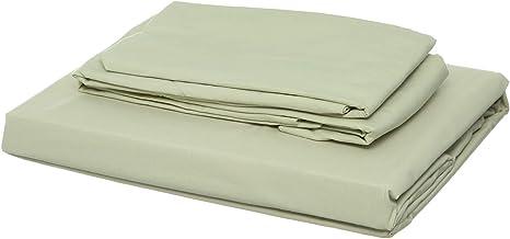 Al Maamoun Set Of Plain Bed Sheet, 1 Pillow, 1 Small Pillow - Grey